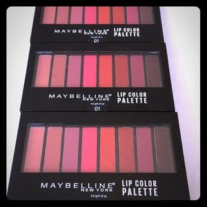 Maybelline lip color palette in 01